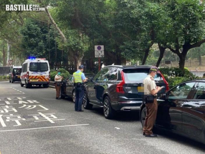 警方沙田嚴厲打擊交通違規 三日發2791張告票