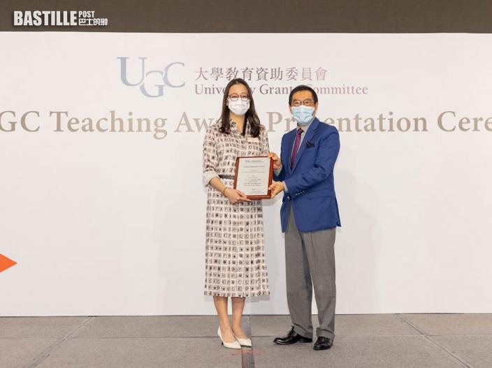 科大助理教授獲教資會傑出教學獎 冀以教育改變他人人生