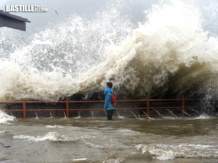 熱帶氣旋季候風天文大潮三重夾擊 天文台警告周末低窪地區或水浸