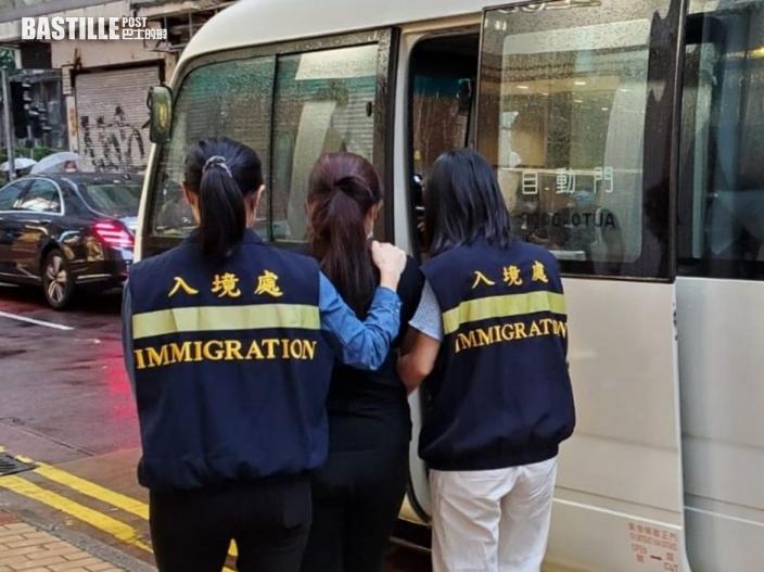 入境處全港各區反非法勞工 8黑工3僱主被捕