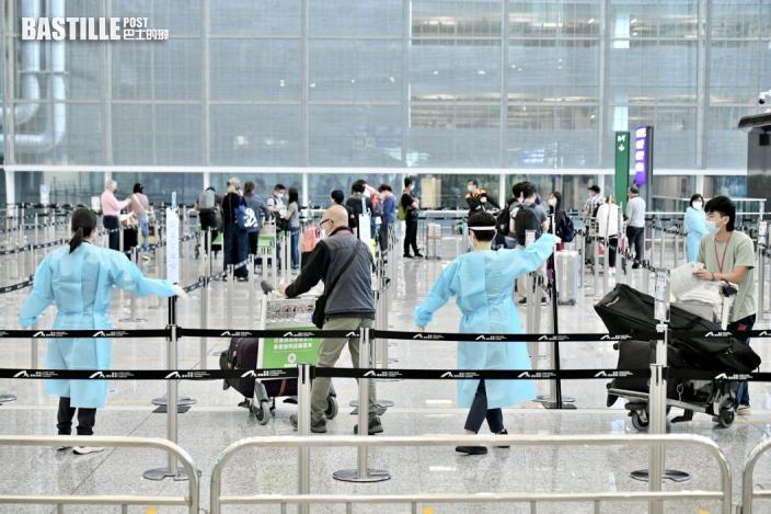 兩港人抵英後確診 阿聯酋航空迪拜及曼谷機禁飛香港兩周