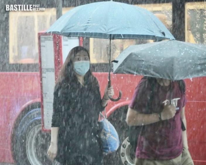 獅子山昨帶來329.7毫米雨量 10月份單日雨量最高記錄