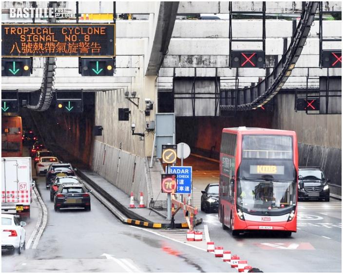 颱風下港鐵如常 九巴維持有限度服務 新城巴大部分線停駛