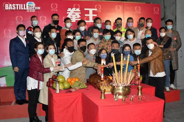 《拳王》成最新台慶劇下月出街 張振朗向黎耀祥復仇