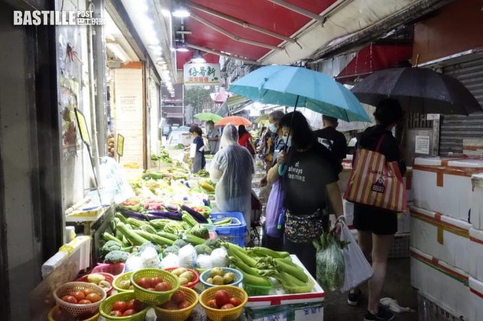 「獅子山」下旺區冷清 街坊商場茶樓人頭湧湧