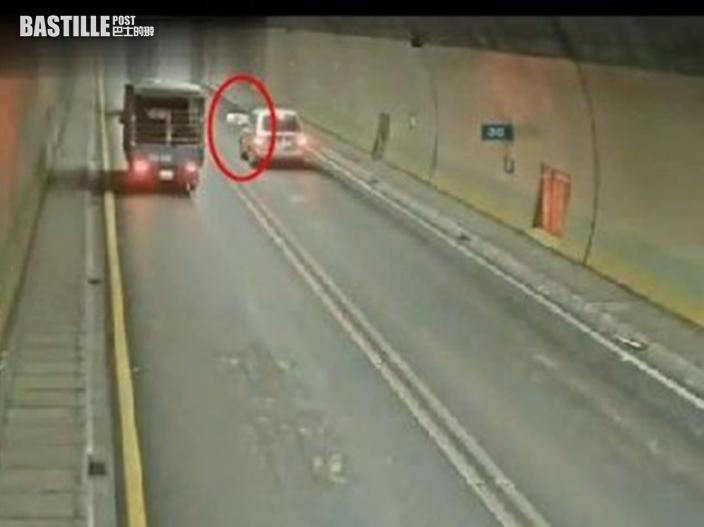 台豬公隧道中逃出「死亡卡車」 警員追逐戰半小時始捕回