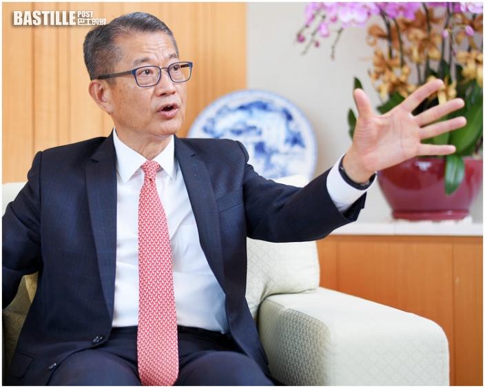 陳茂波:香港雙重心布局 南北兩端「啞鈴式」發展