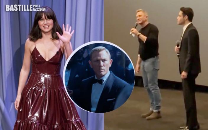 邦女郎Ana性感現身名嘴節目 《007:生死有時》破邦片預售票房