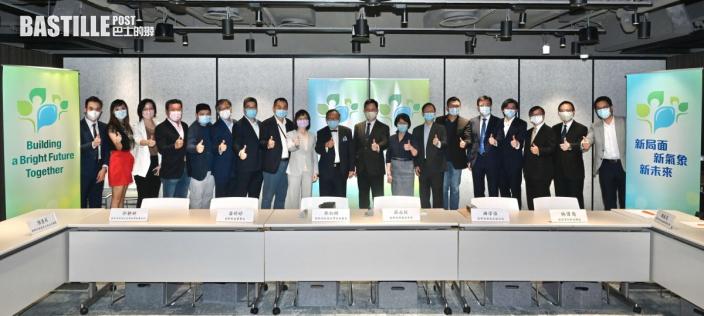 施政報告 薛永恒晤創科界人士 與會者讚新田科技城高瞻遠矚