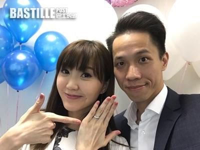 吳若希結婚周年拍《青春本我》 冧晒老公探班合照