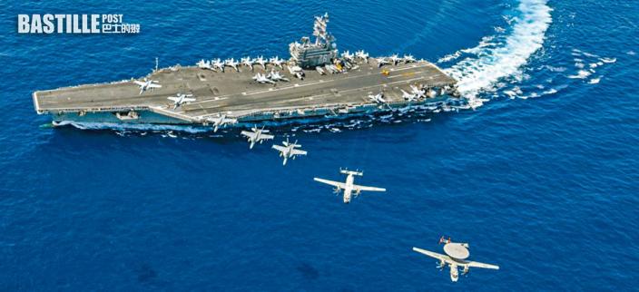 美首認中美海軍勢均力敵