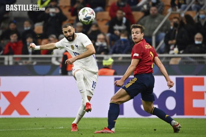 歐國聯 麥巴比爭議入球 法國2:1反勝西班牙奪冠