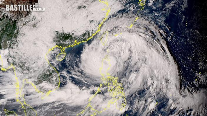 「超大型」風暴圓規環流超過2000公里 遠至福建錄得12級颶風