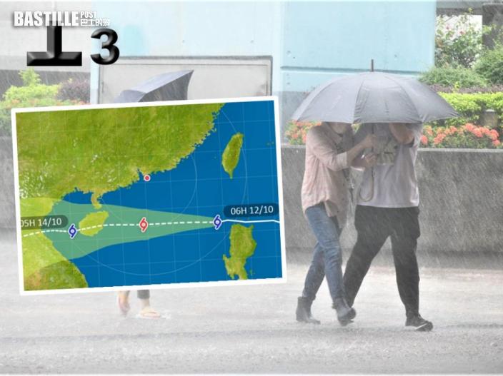 圓規襲港|天文台下午較後時間考慮發出八號烈風或暴風信號