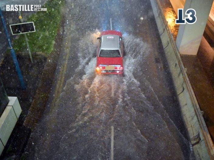 圓規襲港 民政署指低窪地區或嚴重淹浸 籲做好防風防水浸準備
