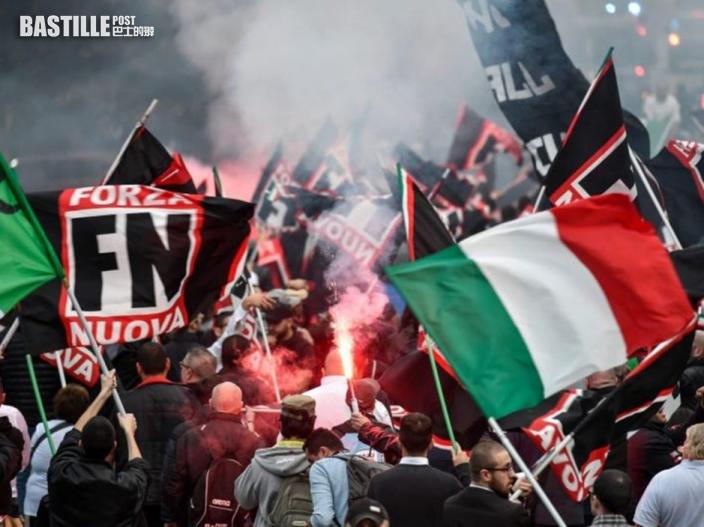 意大利新冠「綠色通行證」示威變暴力衝突 38警員受傷