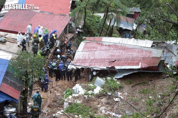 颱風圓規吹襲菲律賓 造成至少9人死亡11人失蹤
