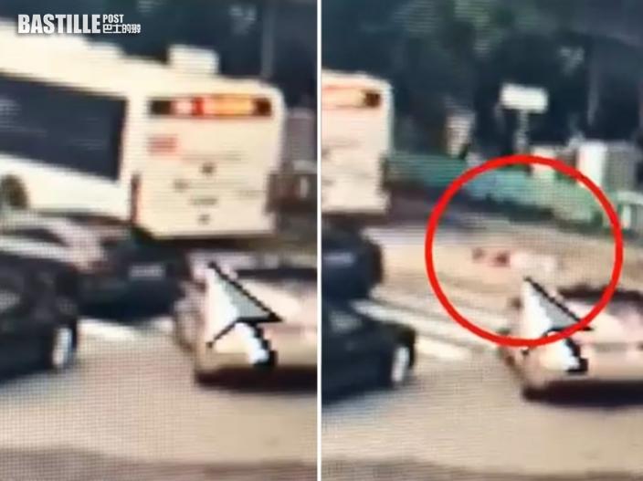 深圳8歲女童過馬路時突然蹲下撿卡片 遭巴士輾斃