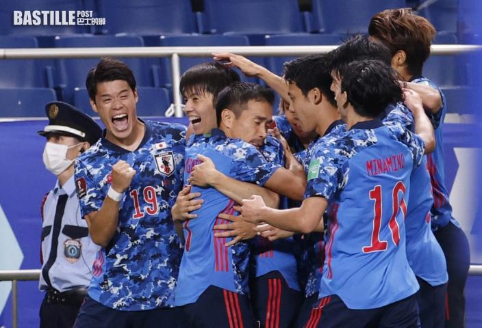世盃外|日本2:1挫澳洲