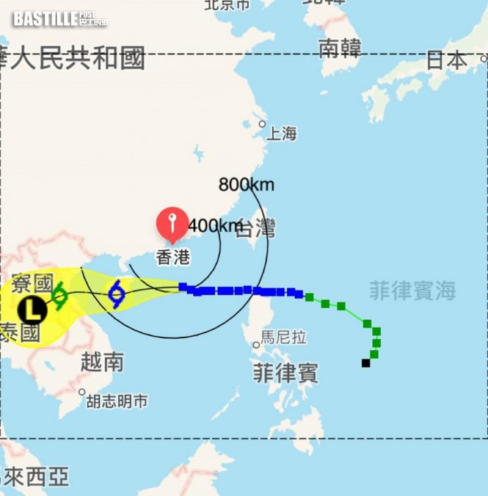 圓規襲港|8號東北烈風或暴風信號仍生效 今日逐漸轉吹東風