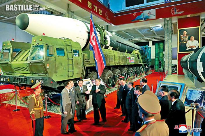 北韓國防博覽 遠程導彈曝光