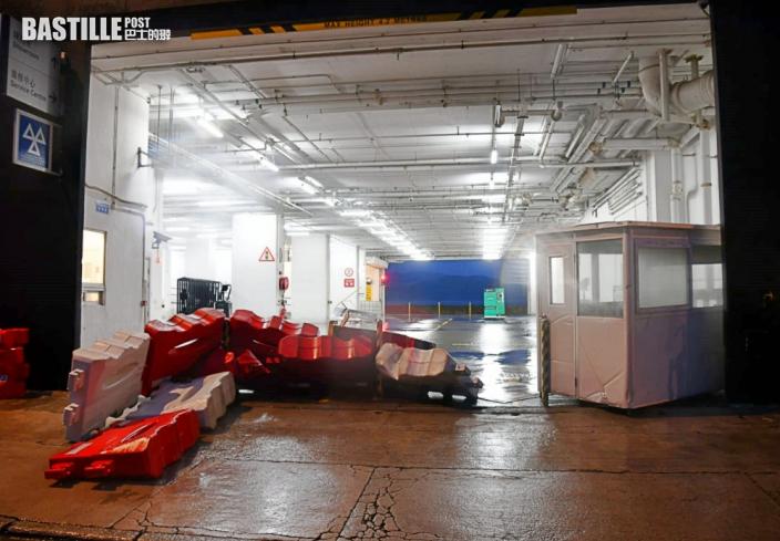 圓規襲港 柴灣嘉業街停車場水浸 更亭水馬被衝毀