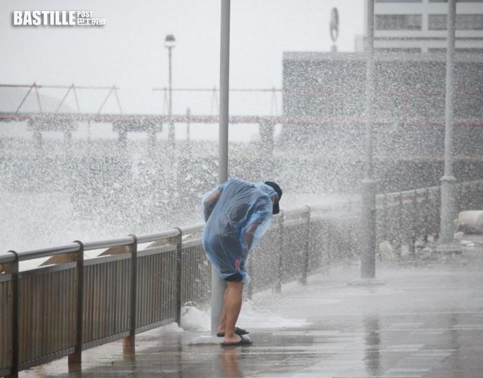 圓規襲港|風暴致1死6傷 暫接35宗塌樹及8宗水浸