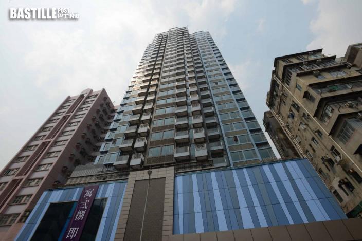 8號風球下成交|寓·弍捌高層戶呎價1.8萬