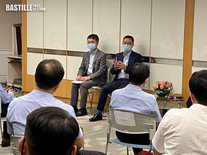 晤教師聆聽意見 楊潤雄:日後續安排定期會面