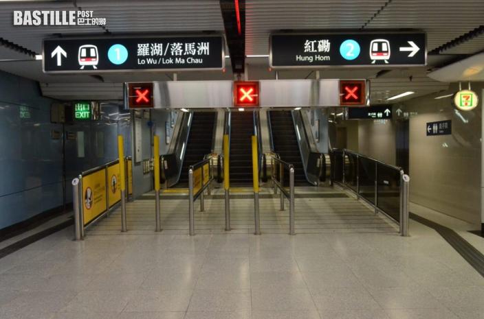 圓規遠離|九龍塘站故障列車移離 港鐵逐步加強服務