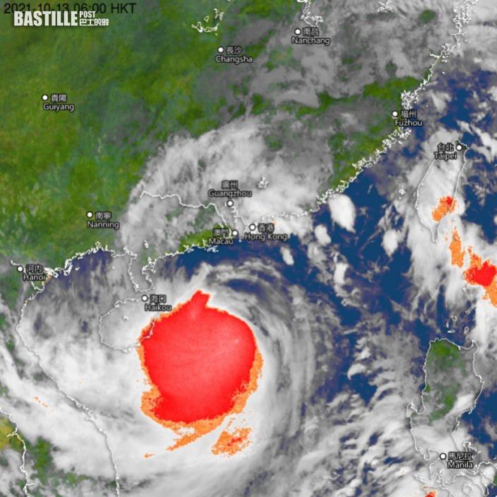 天文台:秋颱遇季候風難測 部分地區雨量超過100毫米