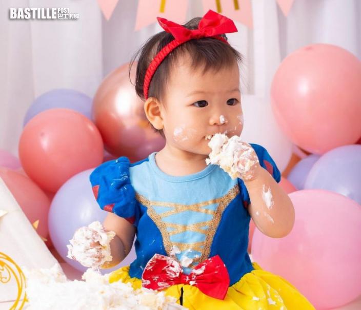 吳雲甫囡囡1歲生日又撞正八號波 :佢真係暴風女神