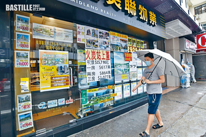 颱風來襲 屋苑錄低市價成交