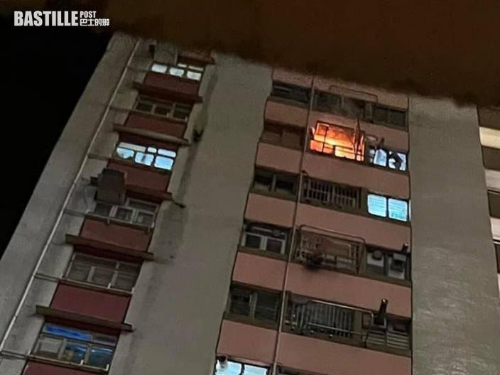疑修爐具時吸煙釀爆炸 彩園邨男戶主手腳燒傷