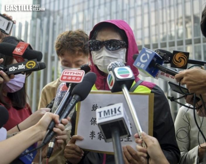 潘曉穎母下周政總門外開記者會 望陳同佳出席「對話」